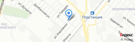 Средняя общеобразовательная школа №43 на карте Челябинска