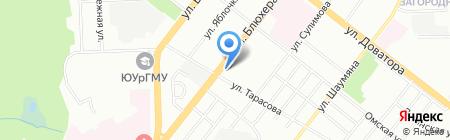 ЕвроКомплект на карте Челябинска