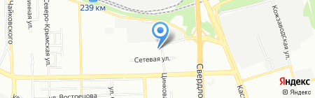 Альфа ЖБИ на карте Челябинска