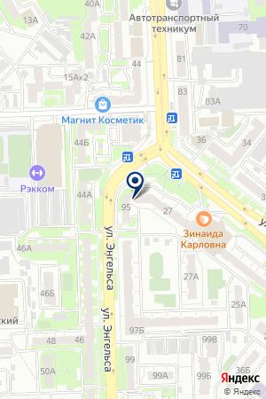 САЛОН КРАСОТЫ ШЕСТАКОВОЙ ЖАННЫ на карте Челябинска