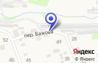 Схема проезда до компании ПЛАТЕЖНЫЙ ТЕРМИНАЛ в Реже
