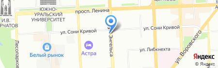 Дверная Мода на карте Челябинска