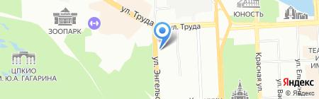 Детский сад №13 на карте Челябинска