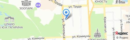 Лэдвин на карте Челябинска