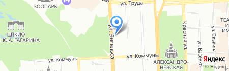 Kvartal`74 на карте Челябинска