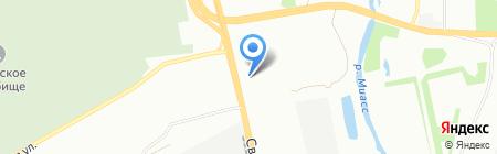 Банкомат Банк Зенит на карте Челябинска