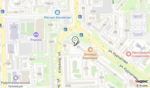 Lockon. Схема проезда в Челябинске