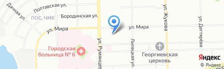 Партнер74 на карте Челябинска