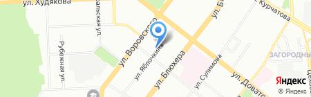 АвтоЛидер на карте Челябинска
