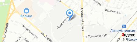 Аэртехника на карте Челябинска