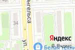 Схема проезда до компании Milano в Челябинске