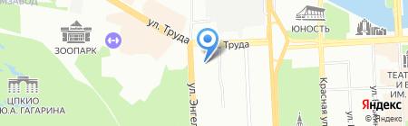 Министерство по физической культуре на карте Челябинска