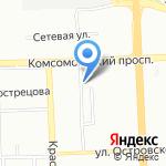 Наладчик на карте Челябинска