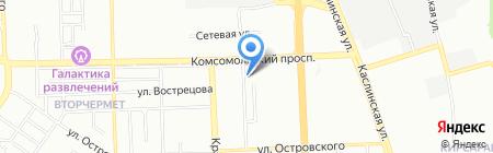 Олина Град на карте Челябинска