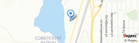 Арматура на карте Челябинска