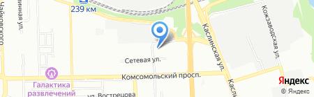 Паришь на карте Челябинска