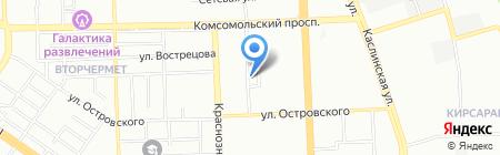 Хеликс на карте Челябинска