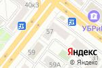 Схема проезда до компании Сеть магазинов джинсовой одежды в Челябинске