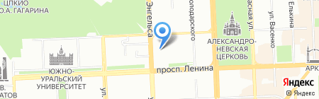 Сити-Принт на карте Челябинска