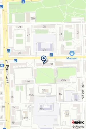 СЕТЬ КЛИНИК ВИТАСМАЙЛ (МЕТАЛЛУРГИЧЕСКИЙ ФИЛИАЛ) на карте Челябинска