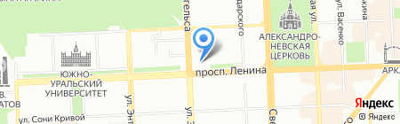 Банкомат Банк Снежинский на карте Челябинска