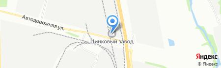 Строймонтаж на карте Челябинска