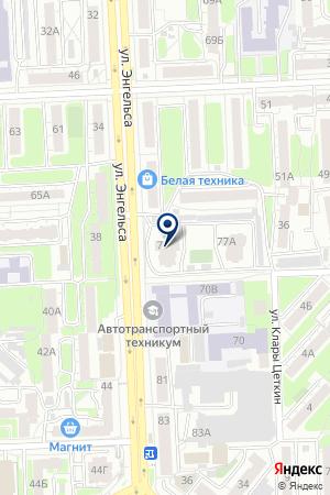 АССОЦИАЦИЯ ЧЕЛЯБИНСКИЕ АВТОМОБИЛЬНЫЕ ДИЛЕРЫ на карте Челябинска