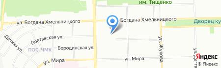 Союз на карте Челябинска