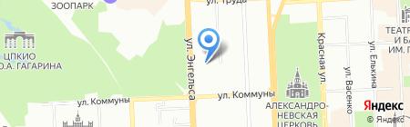 Оптовая фирма на карте Челябинска