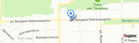 Пиватория на карте Челябинска