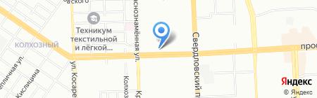 Следственный отдел по Калининскому району г. Челябинска на карте Челябинска