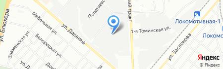 STO-74 на карте Челябинска