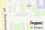 Схема проезда до компании Food Fusion в Челябинске
