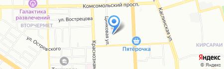 Кондитерская на карте Челябинска