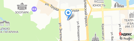 Уралхимфарм-Плюс на карте Челябинска