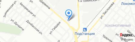 СТО Молния на карте Челябинска