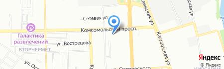 Толщиномеры74 на карте Челябинска