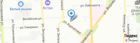Денталика на карте Челябинска
