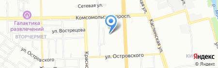 Компания на 5 на карте Челябинска