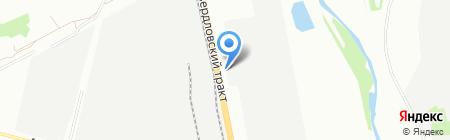 УралПром на карте Челябинска