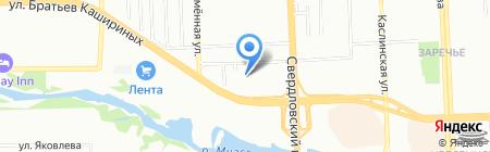 Ветлугина О.М. на карте Челябинска