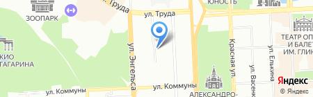 Трейд на карте Челябинска
