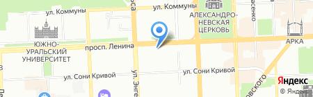 Чудеса на карте Челябинска