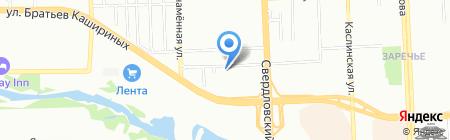 Магазин электротоваров на карте Челябинска
