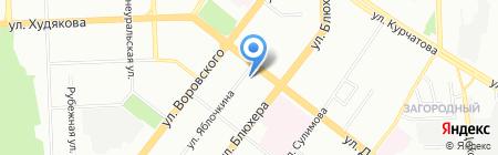 Банкомат АКБ РОССИЙСКИЙ КАПИТАЛ на карте Челябинска