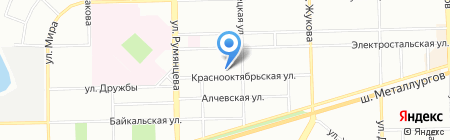 Детский сад №328 на карте Челябинска
