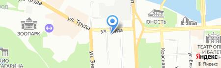 Челябинский областной клинический противотуберкулезный диспансер на карте Челябинска