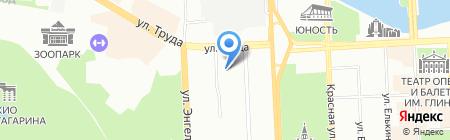 Торговый дизайн-Урал на карте Челябинска