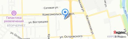 Торжество на карте Челябинска