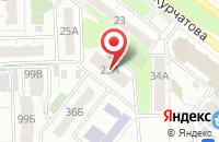 Схема проезда до компании Глянец в Челябинске